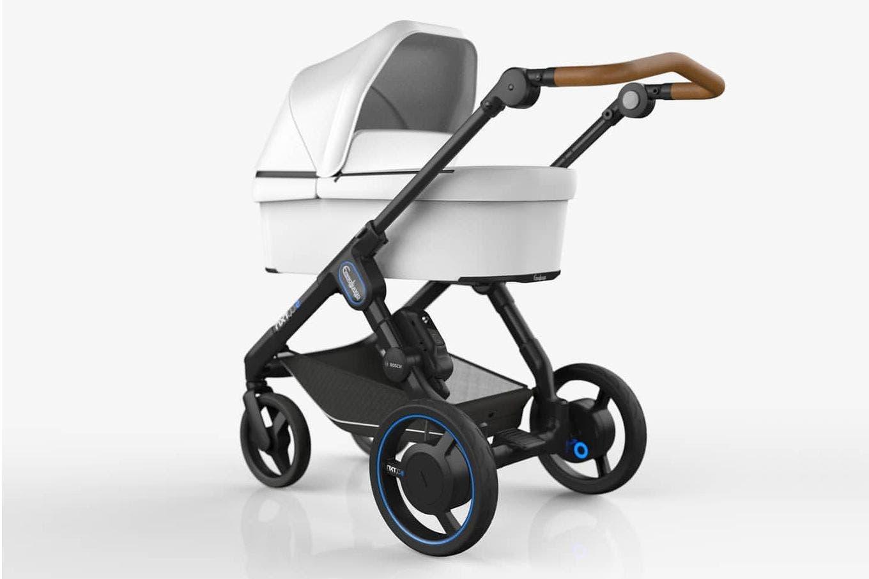 Emmaljunga NXT90e: presentaron un cochecito para bebés con motor eléctrico