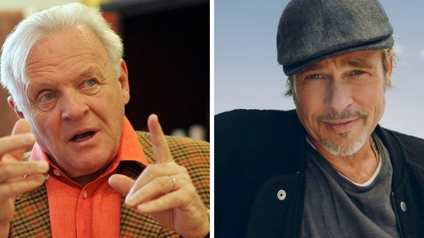 "Brad Pitt y Anthony Hopkins conversaron sobre su adicción al alcohol: ""Estamos luchando"""