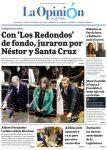 Diario La Opinión Austral edición impresa del día 5 de Diciembre del 2019,Santa Cruz Argentina