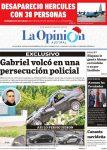 Diario La Opinión Austral edición impresa del 10 de Diciembre del 2019, Santa Cruz Argentina