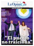 Diario La Opinión Austral edición impresa del 11 de diciembre del 2019, Santa Cruz Argentina