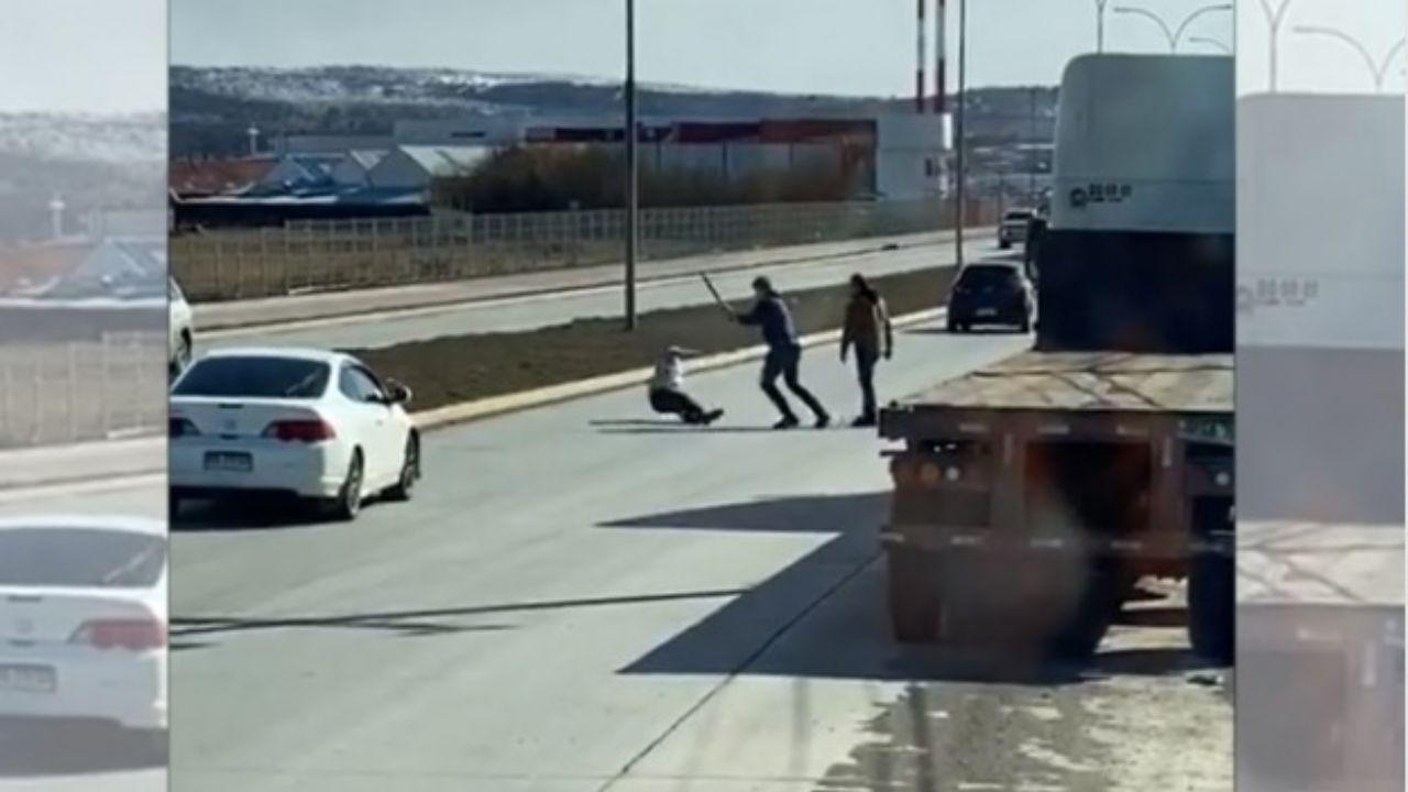 Denuncian brutal golpiza en la vía pública en Punta Arenas