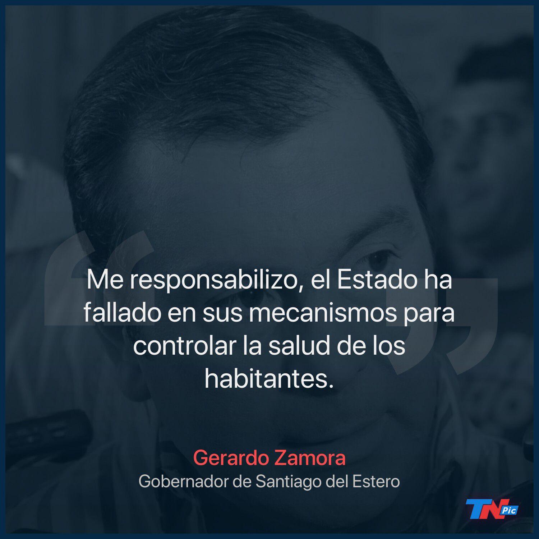 Caso Abigail: el gobernador Gerardo Zamora se disculpó con los padres de la nena de 12 años